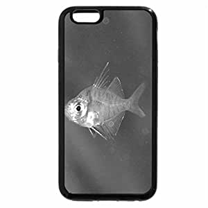 iPhone 6S Case, iPhone 6 Case (Black & White) - Indian Glassy Fish