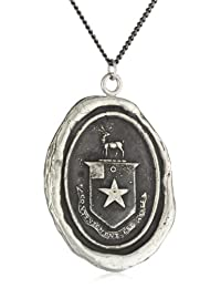 """Pyrrha""""talisman"""" Sterling Silver Happiness Necklace"""