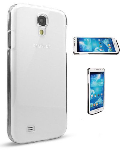 S4 Case, Samsung Galaxy S4 Case [Crystal Clear Hard Shell]- Compatible With Samsung Galaxy S4 SIV S IV i9500 - Hard Shell Cover Skin Cases By Cable and Case In Retail Package - Clear S4 Cases