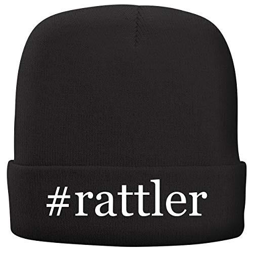 BH Cool Designs #Rattler - Adult Comfortable Fleece Lined Beanie, Black