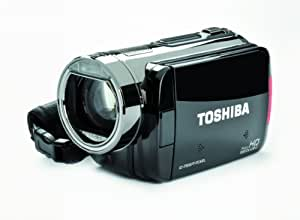 Toshiba Camileo X100 Full-HD Camcorder - Silver/Black (Discontinued by Manufacturer)
