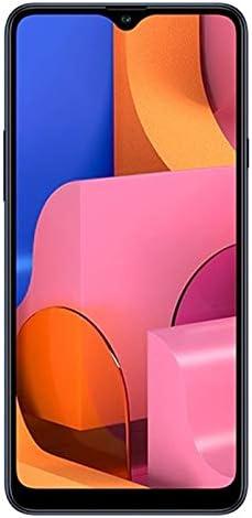 "Samsung Galaxy A20S w/Triple Cameras (32GB, 3GB RAM) 6.5"" Display, Snapdragon 450, 4000mAh Battery, US & Global 4G LTE GSM Unlocked A207M/DS - International Model (Blue, 32GB + 64GB SD Bundle)"