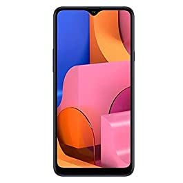 Samsung Galaxy A20 32GB A205G/DS 6.4″ HD+ 4,000mAh Battery LTE Factory Unlocked GSM Smartphone (International Version, No Warranty) (Deep Blue)