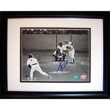 Bucky Dent Framed - Bucky Dent 1978 Playoff Home Run Vs Mike Torrez Custom Framed 8 Inches by 10 inches Photo MLB Major League Baseball Authenticated