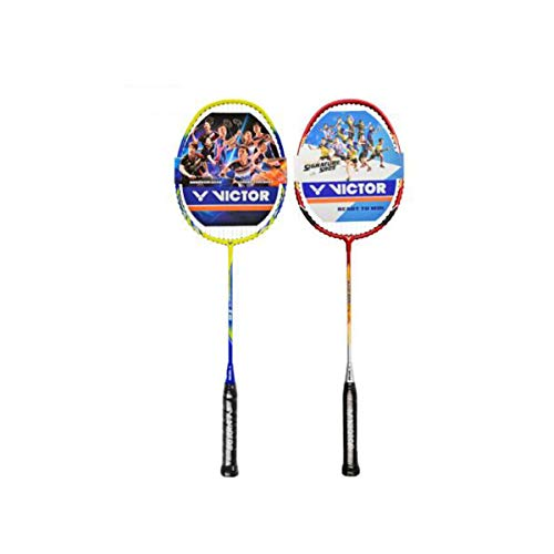 Tongboshi Badminton Racket, Double Shot, Offensive Full Carbon Badminton Racket, Aluminum Alloy Badminton Racket Badminton Racket, (Edition : C) by Tongboshi (Image #3)
