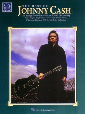 The Best of Johnny Cash, Easy Guitar (Cash Sheet Music)