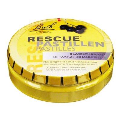 BACH ORIGINAL Rescue Pastillen schw.Johannisb., 50 g
