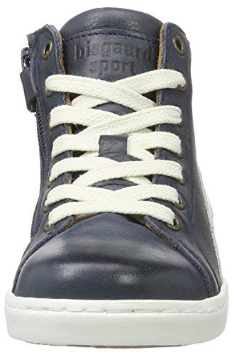 Bisgaard Unisex-Kinder Schnürschuhe High-Top Blau (601 Blue)