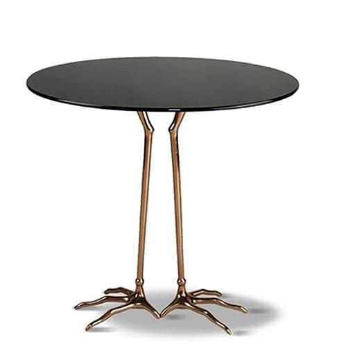 Mesa de salón con estructura de metal Con patas de la mesa de la ...