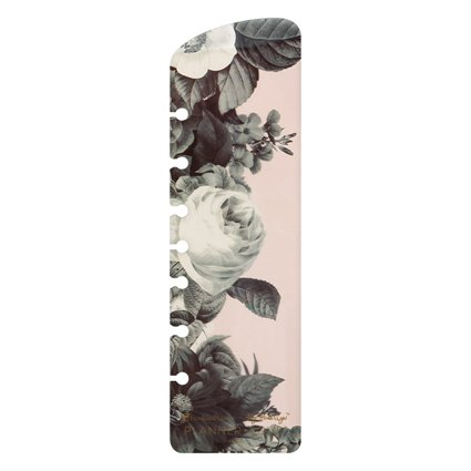 Classic Planner Love Ring-bound Pagefinder - Black and White Floral
