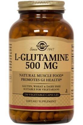 Solgar L-Glutamine 500 capsules végétales 250 mg