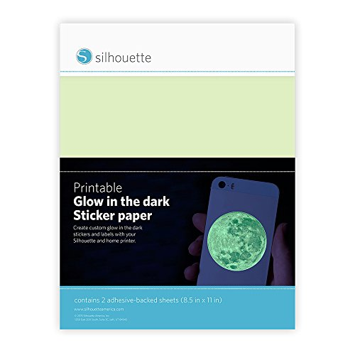 Silhouette of America Glow-in-The Dark Printable Sticker Paper