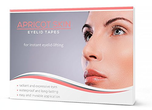 APRICOT SKIN® Eyelid Tapes - for instant eyelid - lifting! Apricot GmbH