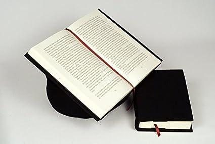 Aniversal 29251510 - Atril y protector para libros, color negro ...