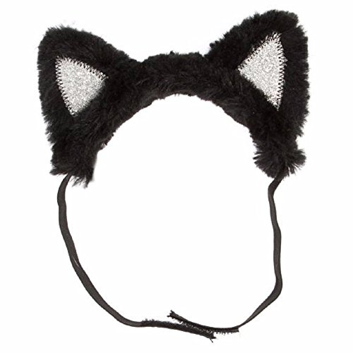 Halloween Cat Ears Costume for Dog / Pet by Thrills & Chills (Large) ()