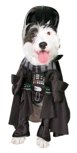 Star Wars Darth Vader Pet Costume, Size Large by Rubies Costume Company