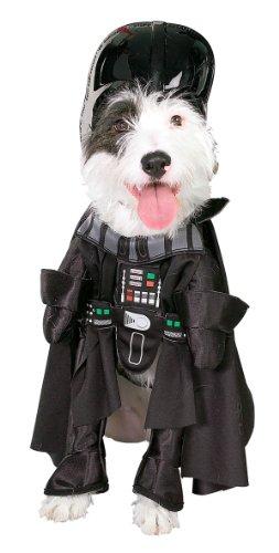 Star Wars Darth Vader Pet Costume, Size (Vader Dog)