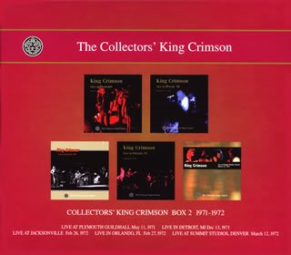 COLLECTORS' KING CRIMSON [BOX2] 1971-1972