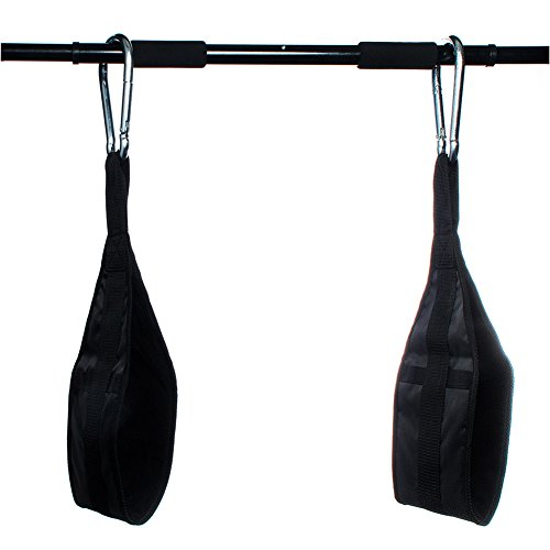 1UP Hanging AB Straps for Fitness, Core Pull Up Strap Body Workout
