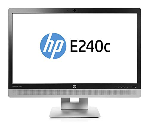 "HP 23.8"" EliteDisplay E240c M1P00AA Full HD Video Conferenci"