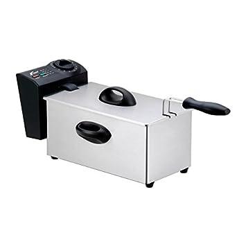 Freidora electrica 2,50 lts Thulos Aceite caliente Freidora Acero 2.50 litros: Amazon.es: Hogar