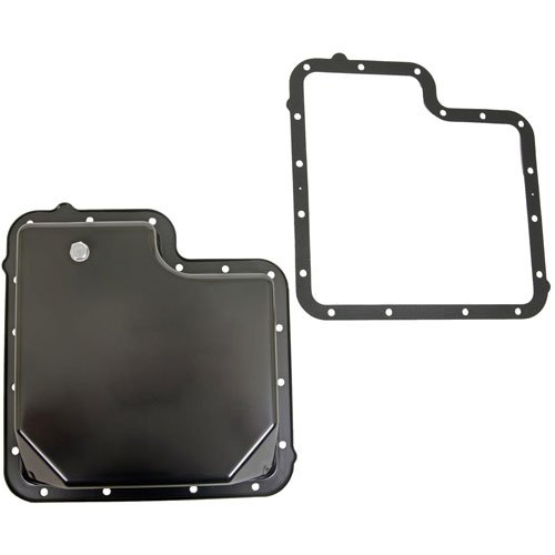 TCI 428011 Black-Powdercoated Transmission Pan Ford C6