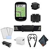 Garmin Edge 530 GPS Cycling/Bike Computer Sensor Bundle – Accessories Bundle