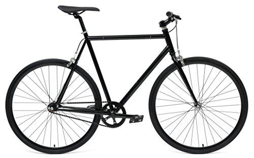 UPC 817799018655, Hand-Built Bikes Fixed-Gear/Single-Speed Bike, 48 cm, Matte Black