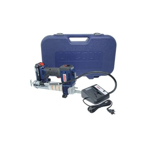 Image of Home Improvements Lincoln 1882 20V Li-Ion PowerLuber Single Battery Unit with Charger and Carrying Case