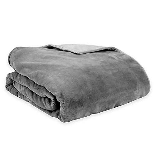 Cheap Therapedic Reversible 16 lb. Medium Weighted Blanket in Grey Black Friday & Cyber Monday 2019