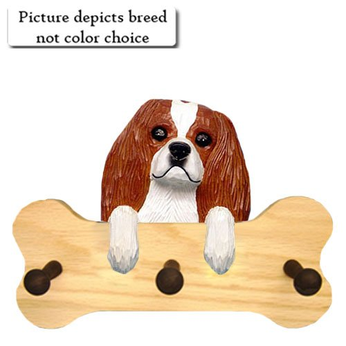 - Michael Park TRI Cavalier King Charles Spaniel Bone Hang Up NATURAL OAK