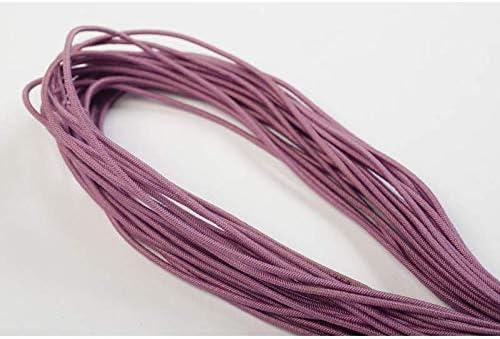 weiss 10m Hutgummi 1,3mm Perlenschnur Auswahl aus 32 Farben // Farbe: 01 Jajasio Elastische Schnur