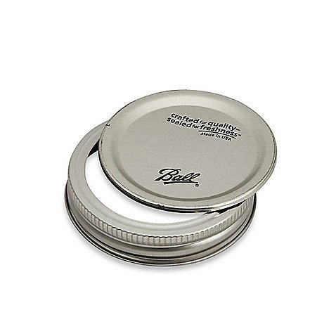Ball Regular Mouth Lids and Bands - 24 pack by Ball (Image #1)