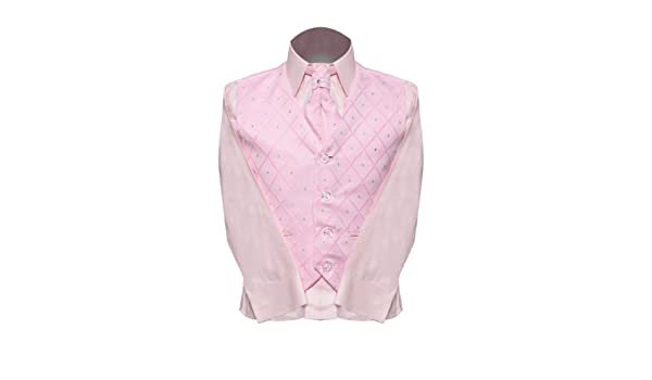 Vivaki 4 piezas negro & traje para niño rosa rosa Hasta 3 meses ...