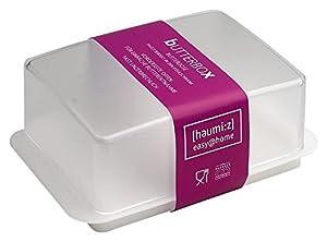 homiez Butterdose, Butterbox, Butterbehälter für normales Butterstück (250g),...