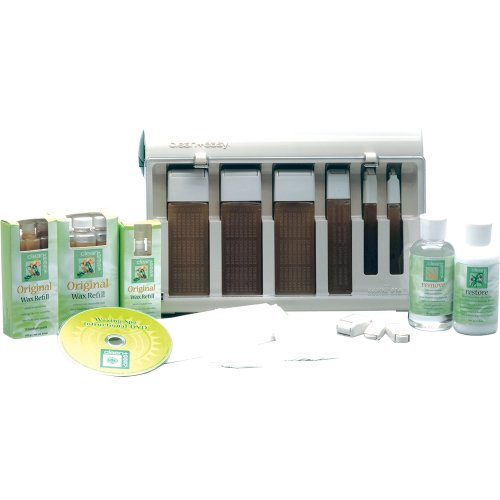 Clean + Easy Professional Waxing Spa Basic Kit, 22 Count Easy Waxing Spa