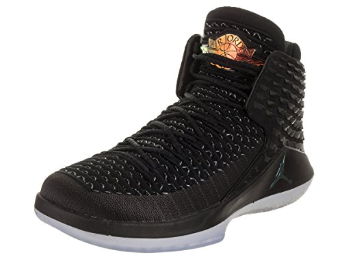 Jordan Nike Men's Air XXXII Black/Multi-Color Basketball Shoe 10.5 Men US