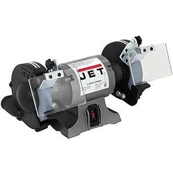Jet 577101 6 Inch Industrial Bench Grinder Power Bench