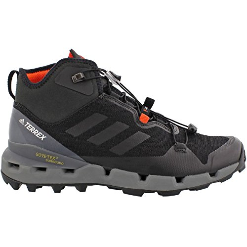 adidas outdoor Terrex Fast GTX-Surround Mid Hiking Boot - Men's Black/Black/Vista Grey