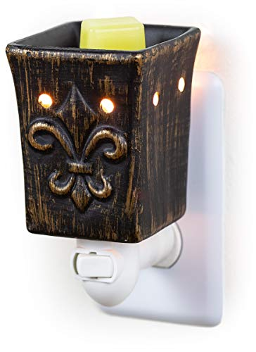 Dawhud Direct Plug-in Fragrance Wax Melt Warmers (Fleur-de-lis)