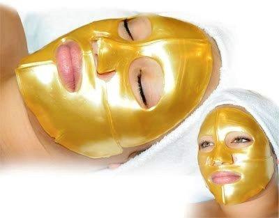 ماسک ورقه ای طلا و کلاژن گلد صورت