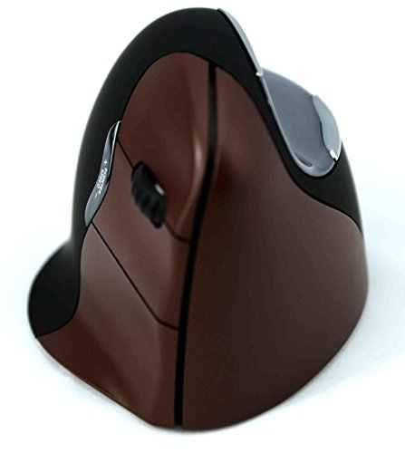 Evoluent - Ergonomical Wireless VerticalMouse & Jestik Microfiber Cloth - Right Handed - Small Size - Brown & Black by Evoluent (Image #8)