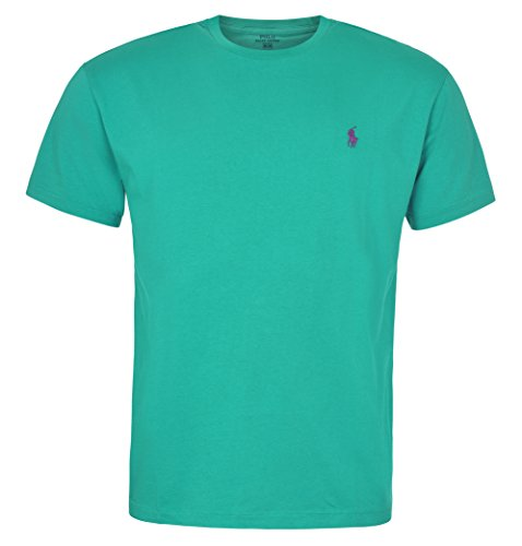 14ffbe9b Polo Ralph Lauren Men Classic Fit Crew Neck Pony Logo T-shirt (Small) - Buy  Online in UAE. | Apparel Products in the UAE - See Prices, Reviews and Free  ...