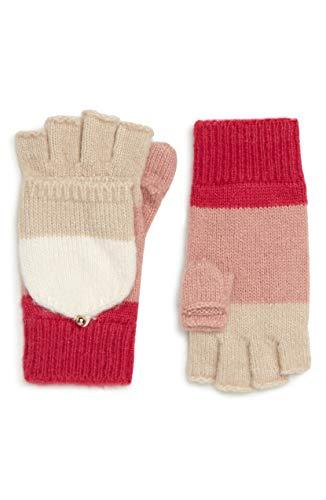 道路原子きょうだい[ケイト スペード] レディース 手袋 kate spade new york brushed knit colorbl [並行輸入品]