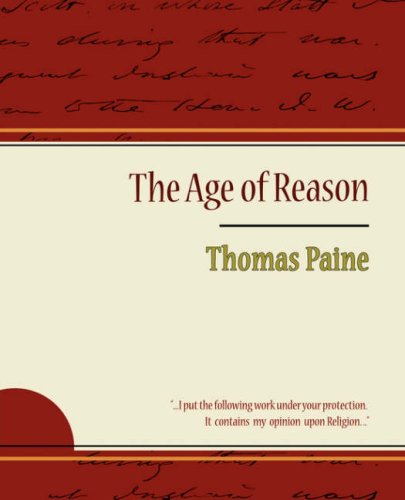 1604244275 - Thomas Paine; Thomas Paine: The Age of Reason: Being an Investigation of True and Fabulous Theology - Libro