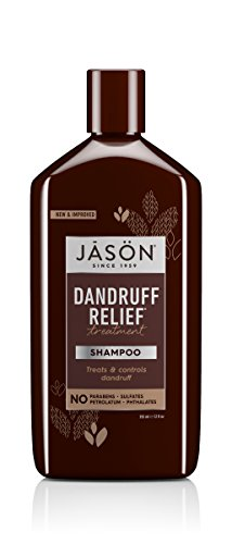 JASON Natural Cosmetics Dandruff Relief Shampoo, Rosemary, Olive and Jojoba, 12 Ounces