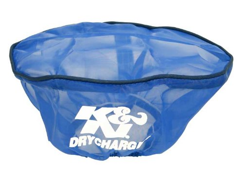 For Your 4.5x7 Oval Filter K/&N Engineering K/&N 22-2020PL Blue Drycharger Filter Wrap