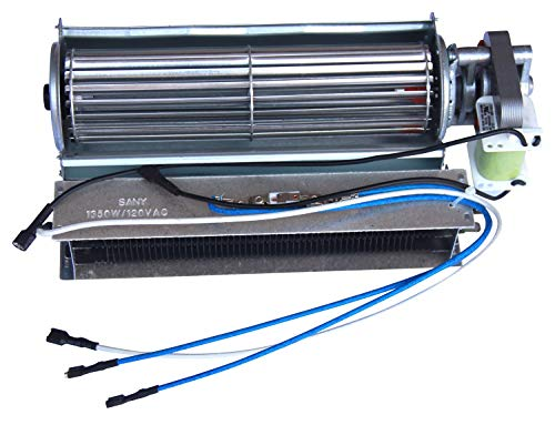 Cheap Hongso Replacement Fireplace Fan Blower & Heating Element for Heat Surge Electric Fireplace Black Friday & Cyber Monday 2019
