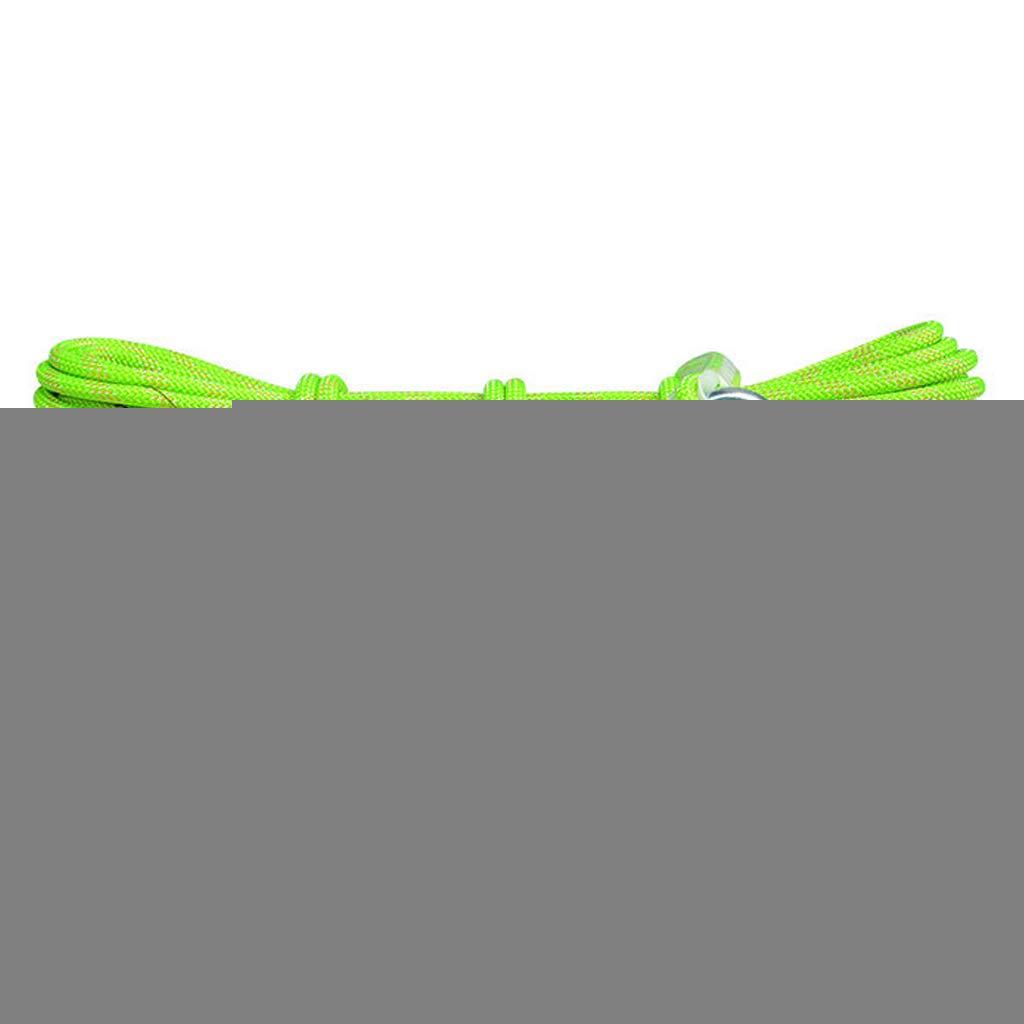 Vert CLIMBING équipement De Survie Extérieur De Corde De Sécurité d'escalade De Corde D'évasion De Corde De Sécurité élevée D'altitude De La Corde 10.5MM vert-10.5mm20m 10.5mm40m