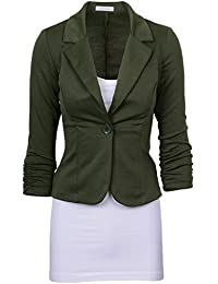 Amazon.com: Green - Blazers / Suiting & Blazers: Clothing, Shoes ...